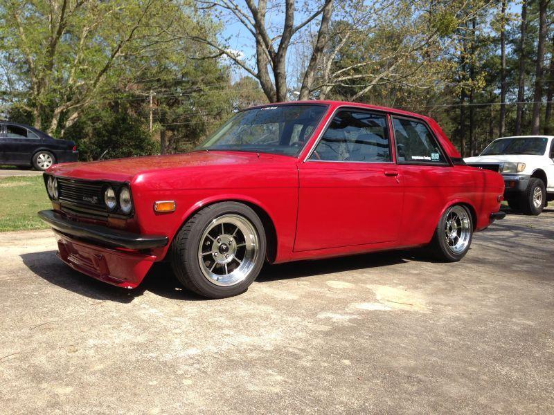 Daily Turismo: 10k: Redcrested Bluebird: 1972 Datsun 510 w