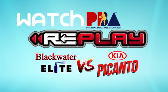 Video List: Blackwater vs Kia game replay February 16, 2018 PBA Philippine Cup