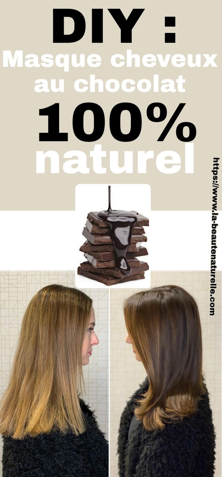 DIY : Masque cheveux au chocolat 100% naturel