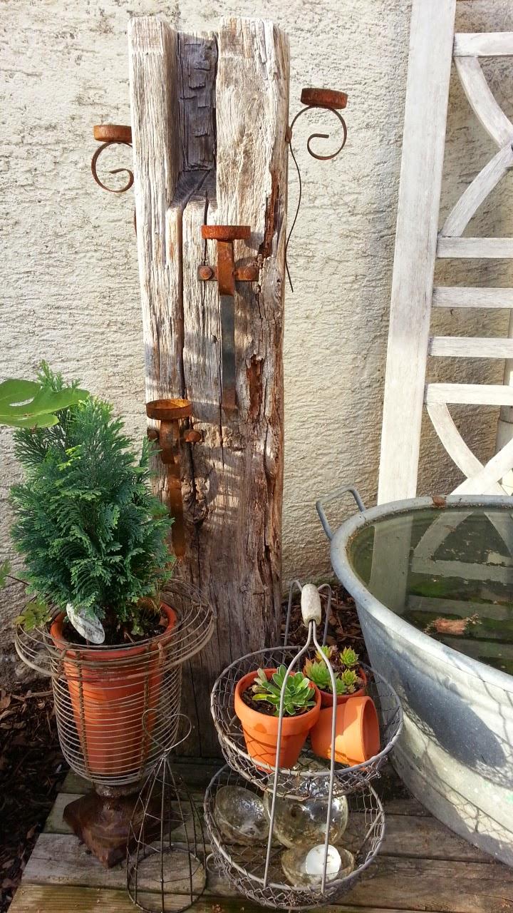 Shabby House and Garden: Goldener Herbst im Garten