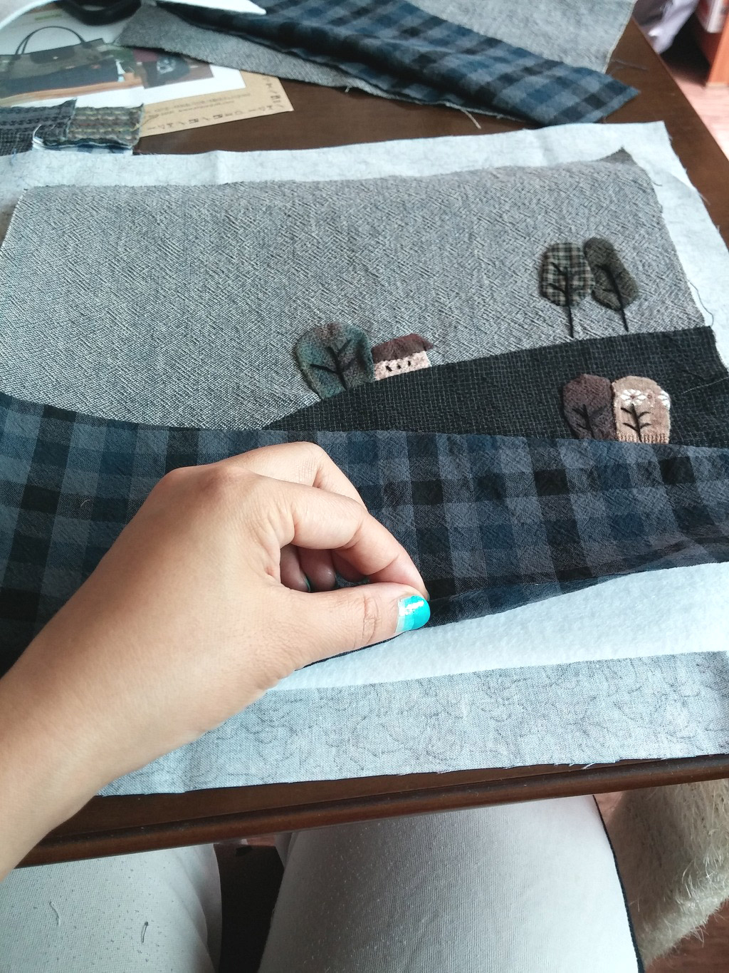 how to make a patchwork quilt step by step