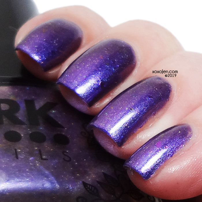 xoxoJen's swatch of DRK Nails Nothing is Gone Forever