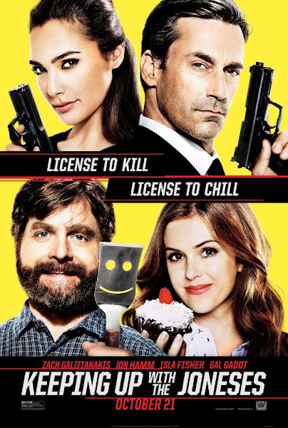 Poster Of Keeping Up With The Joneses 2016 English 720p BRRip Full Movie Download
