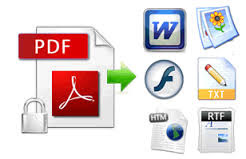 Convert PDF to Various Office Formats