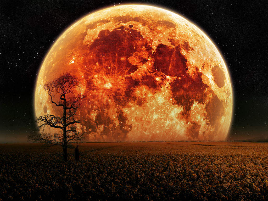 Red Moon Wallpaper: Moon HD Wallpapers Planet Space