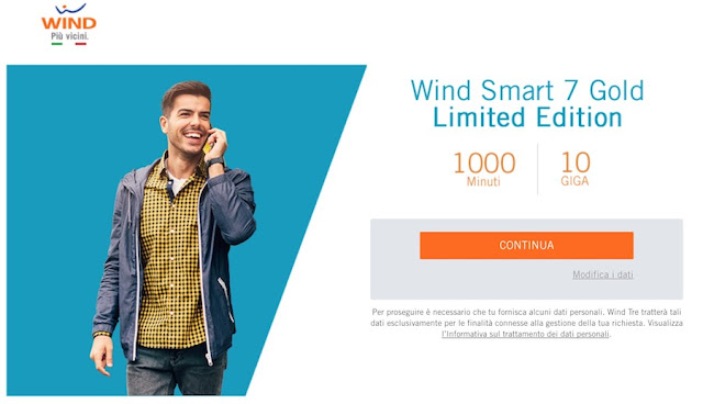 Come attivare Wind Smart Smart 7 Gold 2017