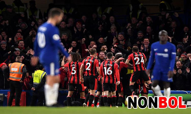 Cuplikan Gol Chelsea 0-3 Bournemouth | Liga Inggris Pekan 25