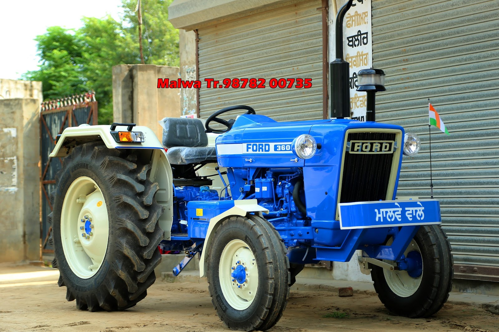 Ford 3610 Tractor : Malwa tractor workshop modify ford