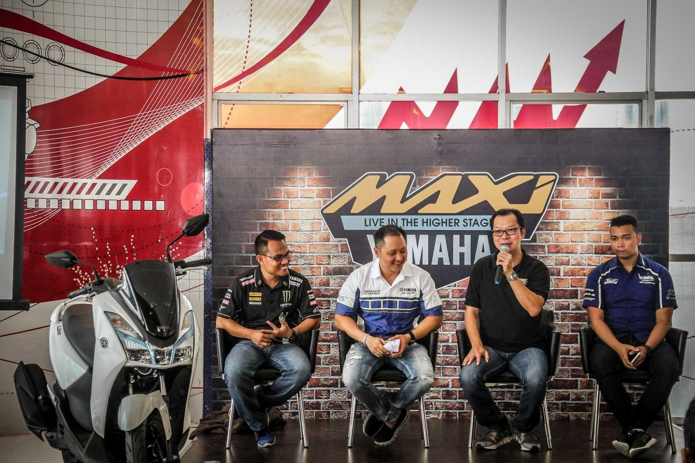 Yamaha Resmi perkenalkan Lexi 125 dikota Medan