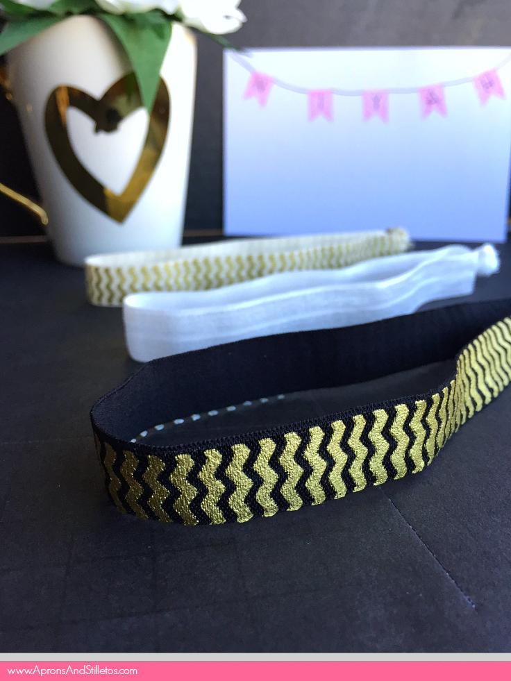 DIY Elastic Headbands