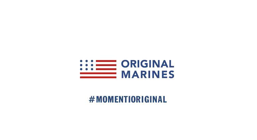 Pubblicità Original Marines kids con piccoli modelli - Testimonial Spot Pubblicitario Original Marines 2016