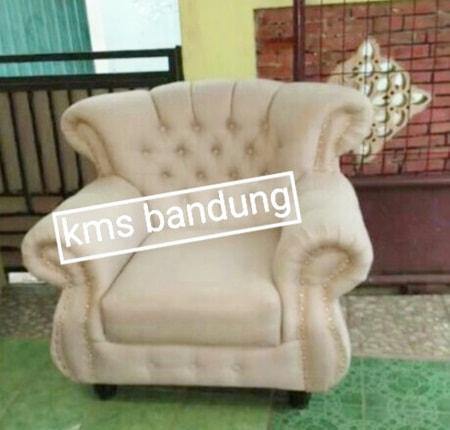 single sofa kancing