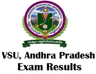 Vikrama Simhapuri University Exam Results 2018