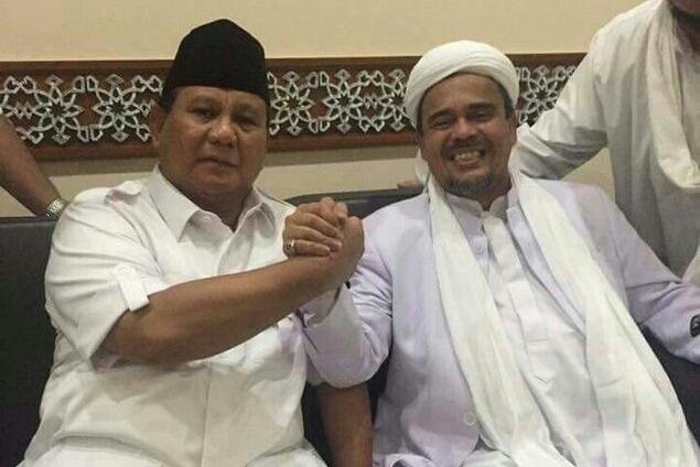 Prabowo Ingin Jemput Habib Rizieq, Gerindra: Sebagai Bentuk Hormat kepada Ulama