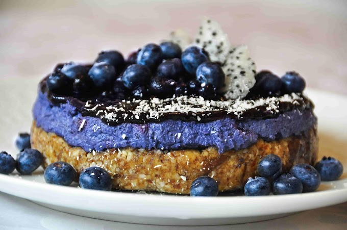 How to Make blueberry cheesecake - Ingredients with complete recipe