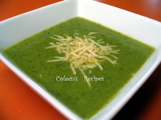 LOW CALORIE BROCCOLI SOUP