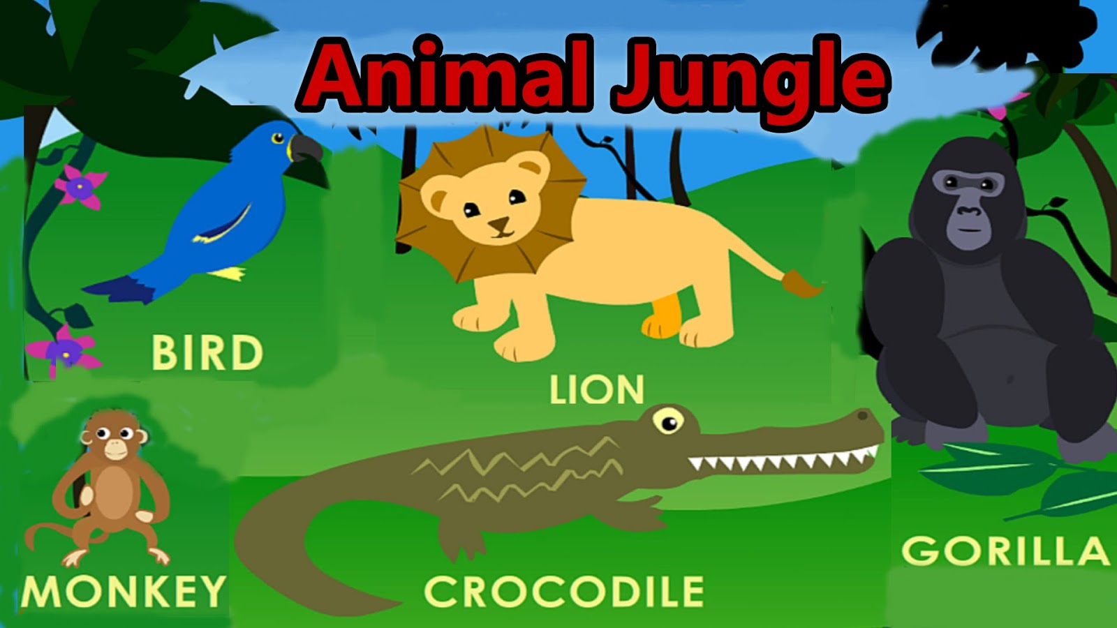 Les Roquetes English Blog Animals In The Jungle