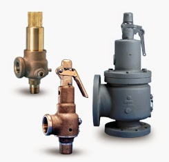 Safety relief valves by Kunkle