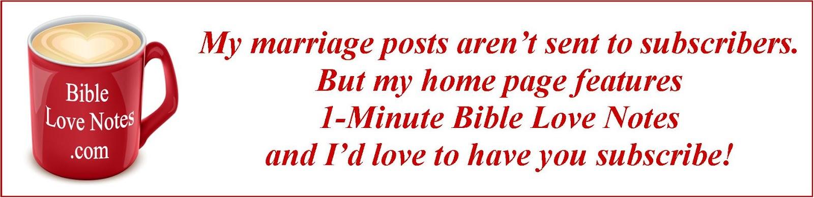 bible love notes short sweet devotions