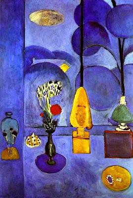 Henri Matisse - La fenêtre bleue,1913.