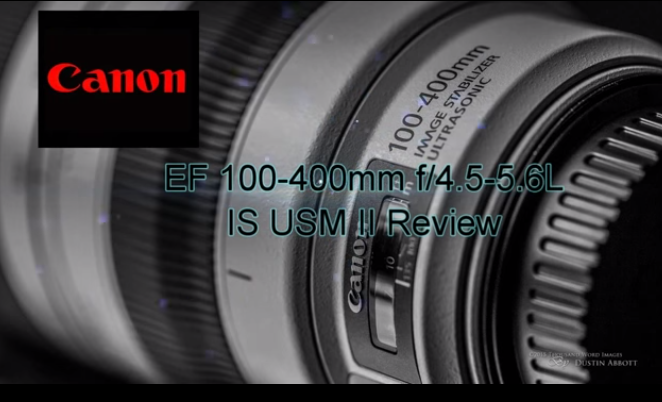 Canon EF 100-400mm f/4.5-5.6L IS USM II Lens Review