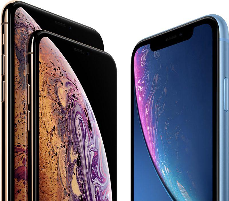 iPhone XS, iPhone XS Max e iPhone XR