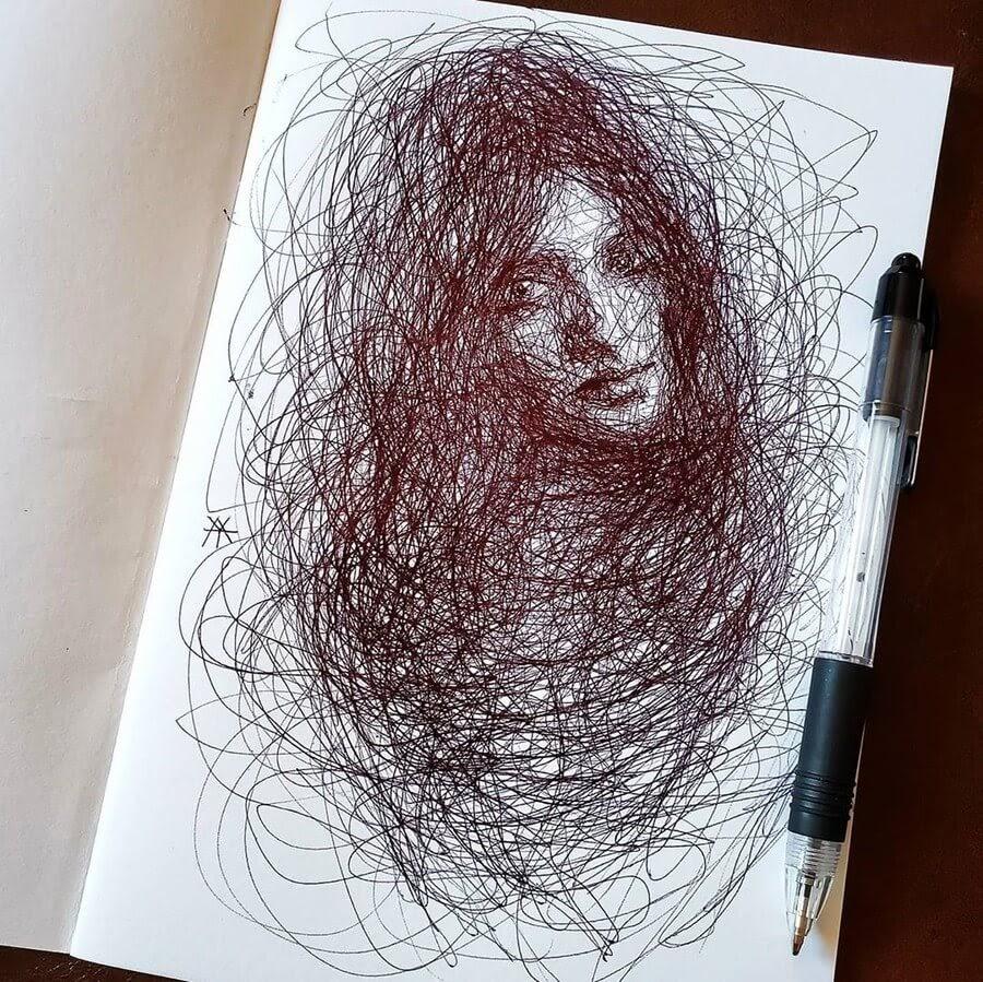 08-Scribble-Portraits-Liz-Y-Ahmet-www-designstack-co