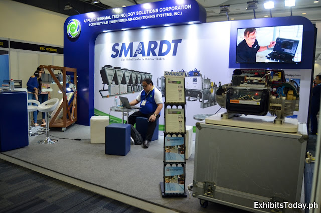 SMARDT exhibition booth