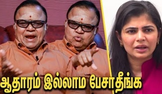 Radha Ravi Dares Chinmayi on his Allegation | Me Too, Interview