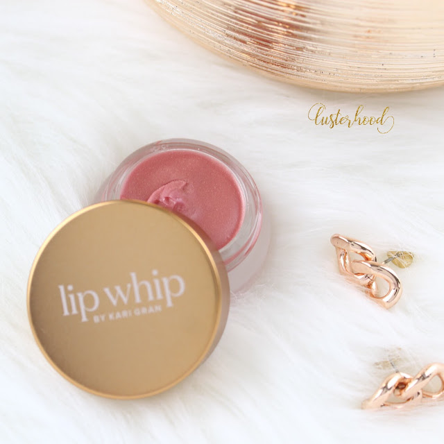Kari Gran Lip Whip Rosie Gold  |  Lusterhood