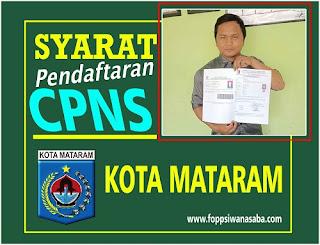 Syarat Pendaftaran CPNS Kota Mataram