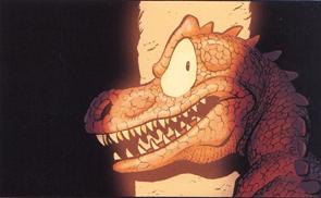 La saga de Atlas y Axis - volumen 4 de Pau, edita Dibbuks dinosaurios
