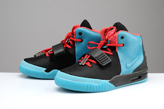"half off 4945b a884a Nike Air Yeezy 2 ""South Beach"" Never happen besides in the custom world,  and here is a look at PK Studios latest design. Using the Nike Air Yeezy 2  Solar ..."