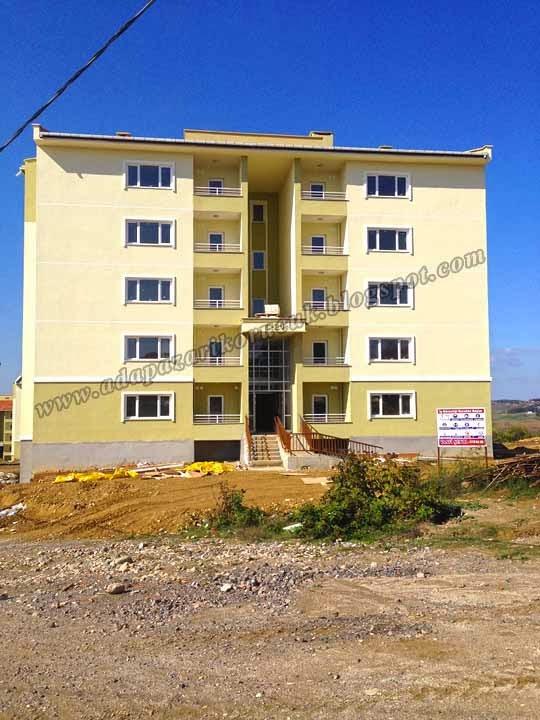 Sakarya Korucuk Toki evleri  466 konut projesi