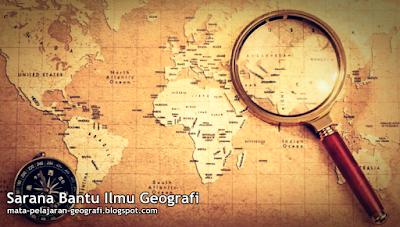 Sarana Bantu Ilmu Geografi, Table, Diagram, Grafik, Peta.
