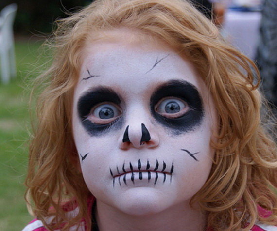 7 Creative And Scary Halloween Makeup Ideas For Kids