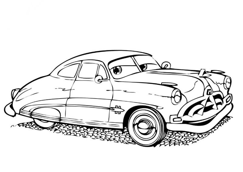 - Disney Cars Coloring Pages