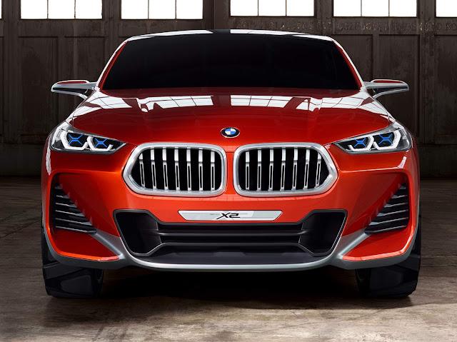 novo BMW X2 2017