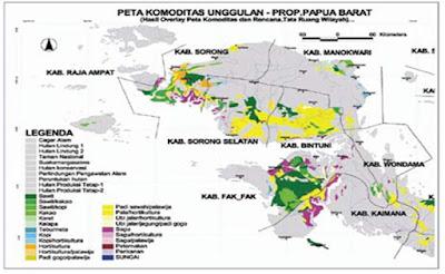 Menghitung Potensi Perkebunan Kelapa Sawit di Papua Barat