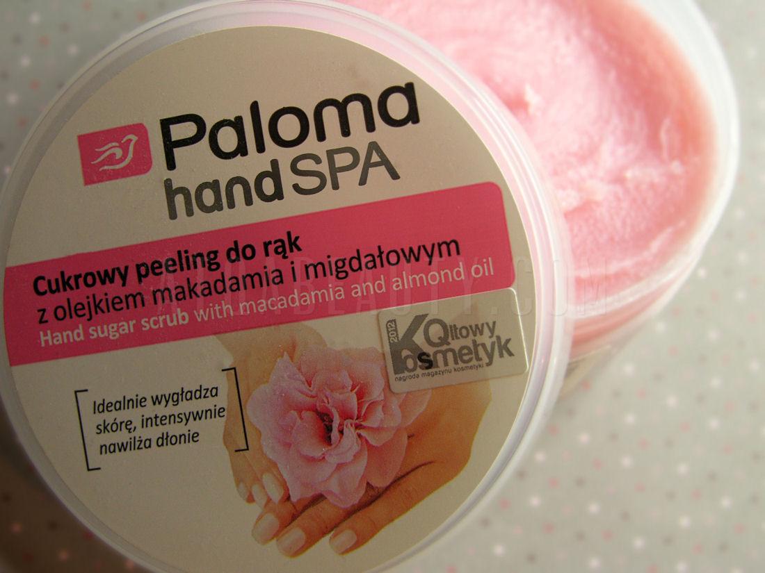 Paloma, Hand SPA, Cukrowy peeling do rąk