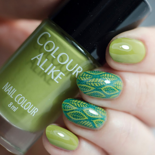 "Colour Alike ""Golden Lime"""