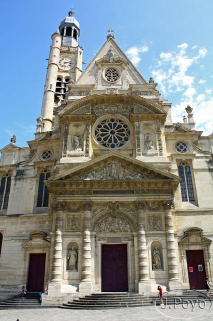 iglesia de Saint Etienne de Paris