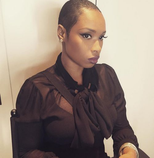 Radical! Jennifer Hudson has shaved off the hair