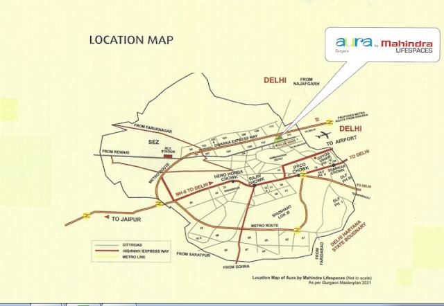Location - Mahindra Aura