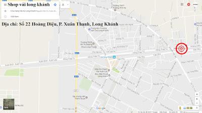 Địa chỉ cửa hàng vải ký Long Khánh trên bản đồ
