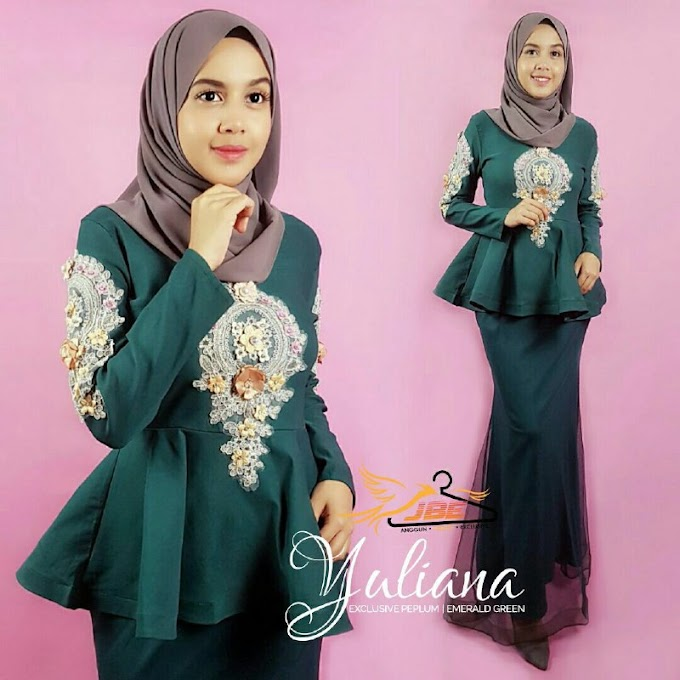 YULIANA EXCLUSIVE PEPLUM