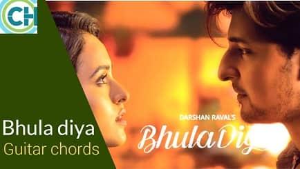BHULA DIYA Guitar chords ACCURATE | DARSHAN RAVAL