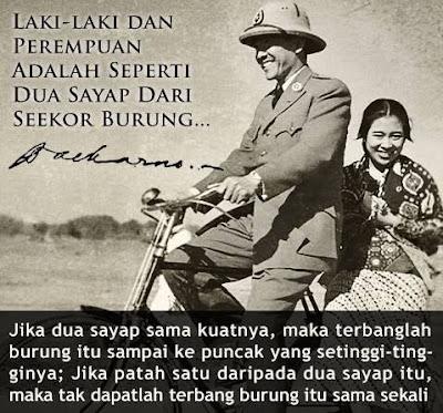 Kata Kata Bijak Presiden Soekarno