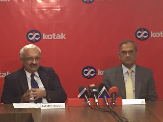 KOTAK MAHINDRA BANK  PAT for Q2FY17 Rs. 813 cr up 43%