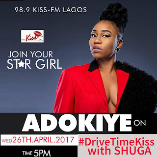LIVE INTERVIEW!!! Adokiye Live on KISS-FM LAGOS